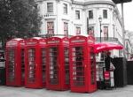 Cabines telefônicas - Londres