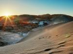 Pôr do Sol no Deserto do Atacama